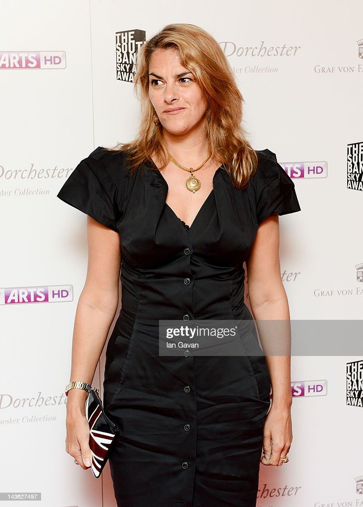 Tracey Emin attends the South Bank Sky Arts Awards at Dorchester Hotel on May 1, 2012 in London, England.