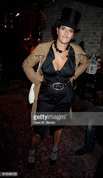 Tracey Emin attends the Stephen Webster launch party of his latest jewellery collection during the London Jewellery Week at Wilton Hall on June 12...