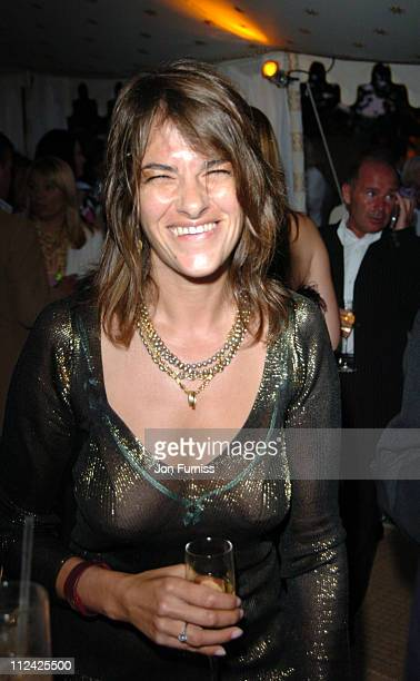 Tracey Emin during Serpentine Gallery Summer Party June 16 2004 at Serpentine Gallery in London Great Britain