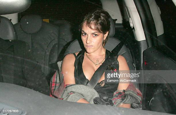 Tracey Emin during Wedding Celebration of Elizabeth Hurley to Arun Nayer Arrivals at Sudeley Castle in Winchcombe Great Britain