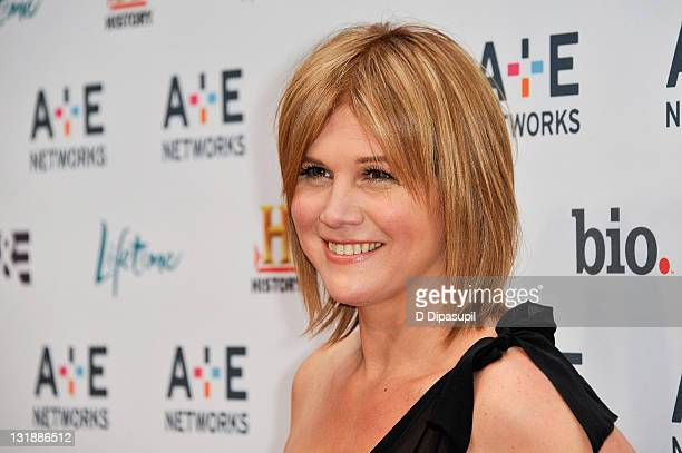 Tracey Gold attends the 2011 AE Television Networks Upfront Presentation at the IAC Building on May 4 2011 in New York City