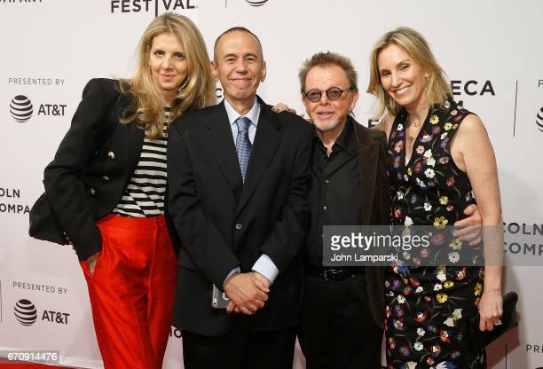 Tracey Jackson Gilbert Gottfried Paul Williams and Dara Kravitz attend Gilbert during the 2017 Tribeca Film Festival at SVA Theatre on April 20 2017...