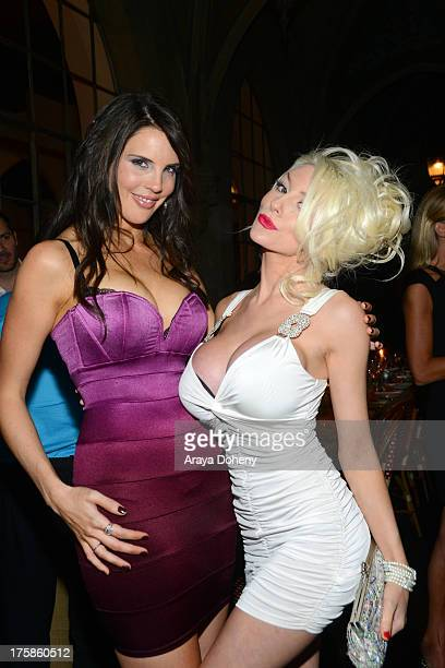 Tracey Jewel and Courtney Stodden attend an exclusive party to celebrate the launch of 'Passion and Pleasure' hosted by Tracey Jewel executive...