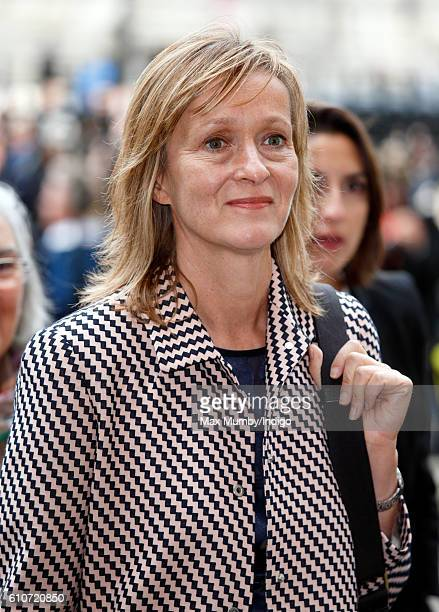 Tracey MacLeod attends a memorial service for the late Sir Terry Wogan at Westminster Abbey on September 27 2016 in London England Radio and...