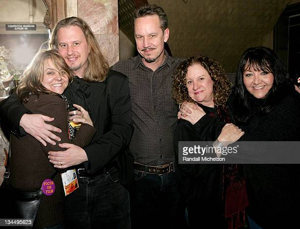 Tracey McKnight Anton Sankow David Robbins Linda Livingston and Doreen Ringer Ross