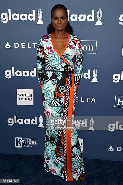 Tracey Norman attends the 27th Annual GLAAD Media Awards in New York on May 14 2016 in New York City