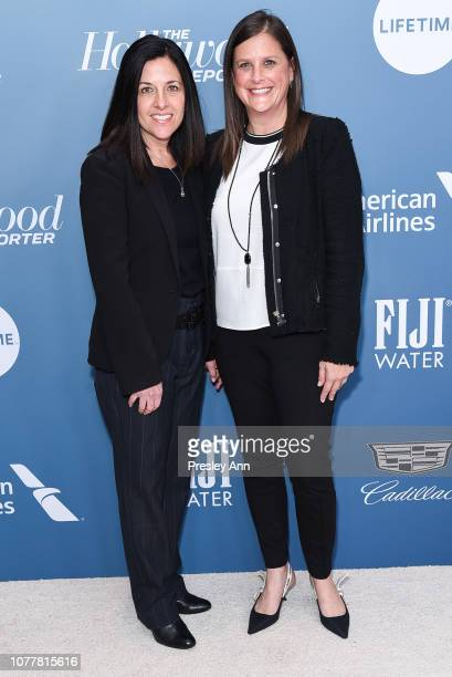 Tracey Pakosta and Lisa Katz attend The Hollywood Reporter's Power 100 Women In Entertainment at Milk Studios on December 05, 2018 in Los Angeles,...