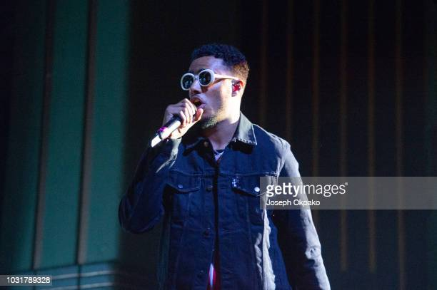 Tracey performs at UK Grime and Hip Hop event the KA GRM Daily RATED AWARDS 2018 at Eventim Apollo on September 4 2018 in London England