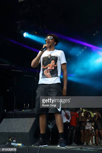 Tracey performs on day 1 of Wireless Festival at Finsbury Park on July 7 2017 in London England