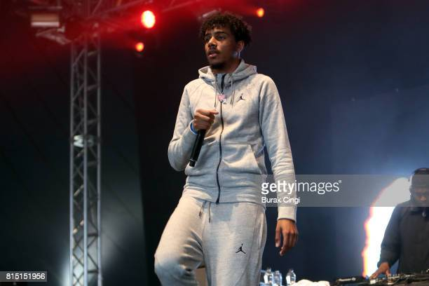Tracey performs on day 2 of Lovebox Festival at Victoria Park on July 15 2017 in London England
