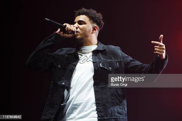 Tracey performs on stage at The O2 Academy Brixton on March 23 2019 in London England