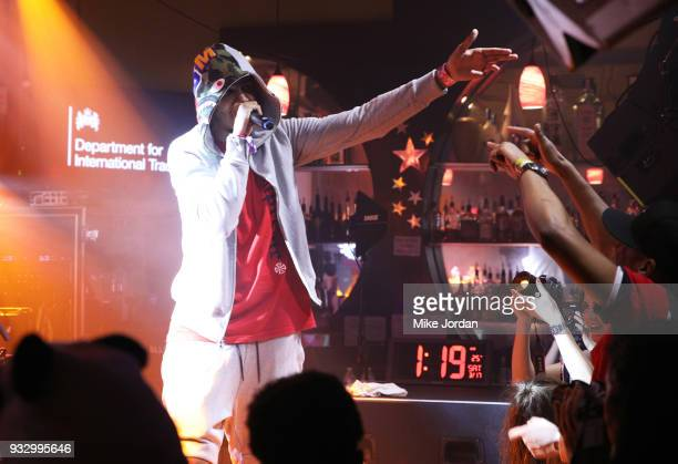 Tracey performs onstage at BBC 1XTRA during SXSW at Latitude 30 on March 16 2018 in Austin Texas