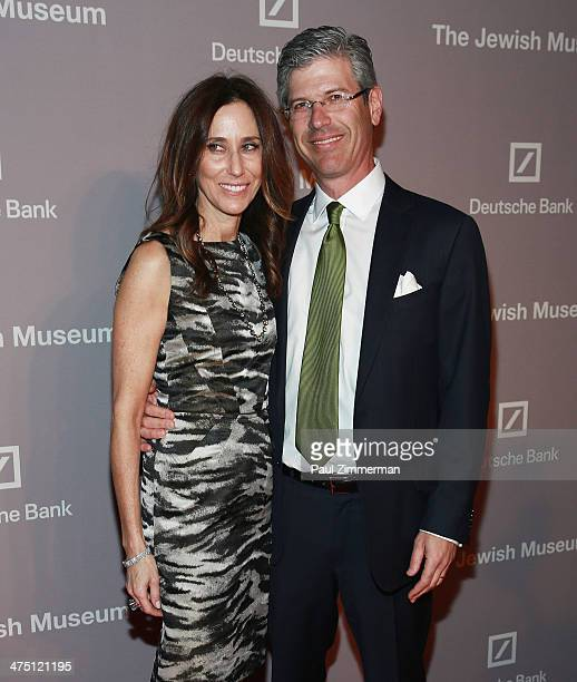 Tracey Pruzan and Chairman of The Jewish Museum Robert Pruzan attend the Jewish Museum's Purim Ball 2014 at Park Avenue Armory on February 26 2014 in...