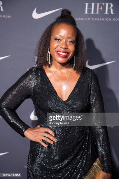 Tracey Reece attends Harlem's Fashion Row on September 4 2018 in New York City