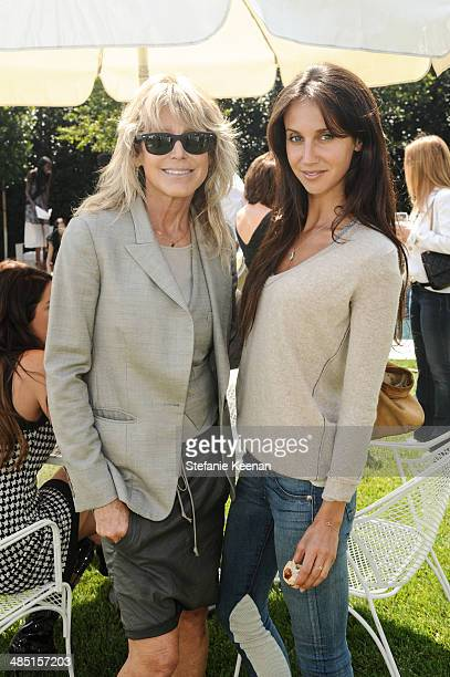 Tracey Ross and Ali Kay attend Heart Annual Brunch With Stella McCartney on April 16 2014 in West Hollywood California