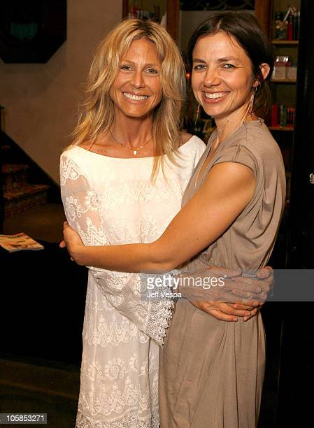 Tracey Ross and Justine Bateman during Imitation of Christ Trunk Show at Tracey Ross in West Hollywood California United States