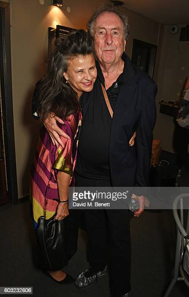 Tracey Ullman and Eric Idle attend the press night performance of 27 at The Cockpit Theatre on September 12 2016 in London England