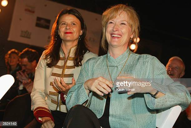 "Tracey Ullman and Meryl Streep at ""One World, One Child Benefit Concert"" for the Children's Health Environmental Coalition honoring Meryl Streep,..."