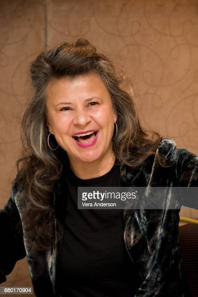 Tracey Ullman at the Howards End Set Visit at the DeVere Estate on May 3 2017 in Surrey England