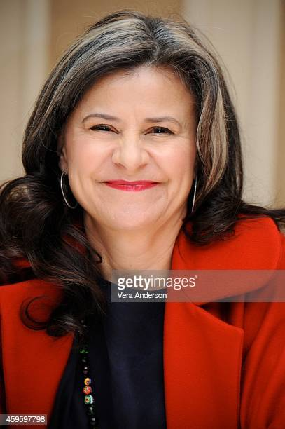 Tracey Ullman at the Into The Woods Press Conference at the Waldorf Astoria Hotel on November 23 2014 in New York City