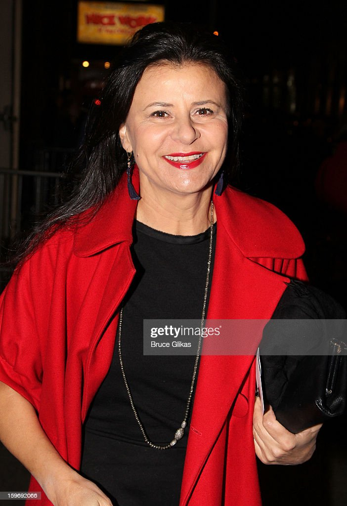 Tracey Ullman attends the Broadway opening night of 'Cat On A Hot Tin Roof' at The Richard Rodgers Theatre on January 17, 2013 in New York City.