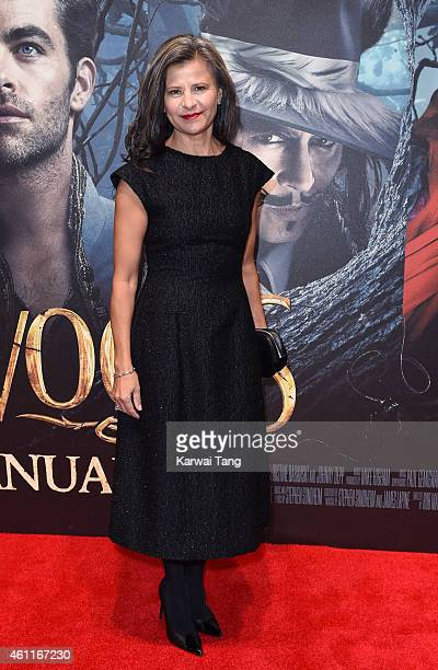 Tracey Ullman attends the gala screening of Into The Woods at The Curzon Mayfair on January 7 2015 in London England
