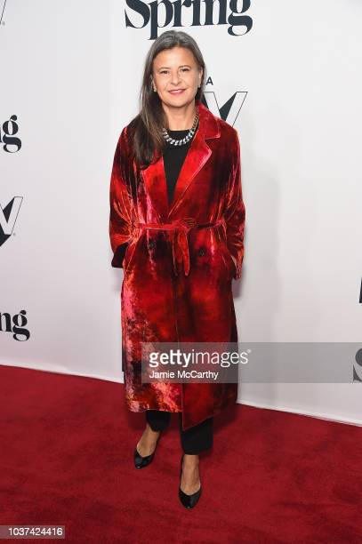 Tribeca Festival founder Jane Rosenthal speaks at the 'Tracey Ullman's Show' Season 3 Premiere panel for the 2018 Tribeca TV Festival at Spring...