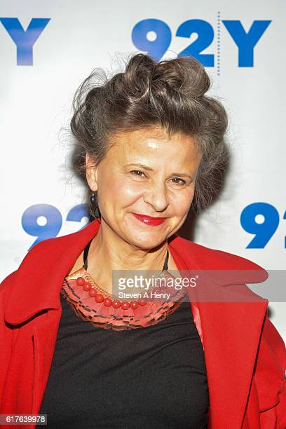 Tracey Ullman attends Tracey Ullman In Conversation With Patricia Marx at 92nd Street Y on October 23 2016 in New York City