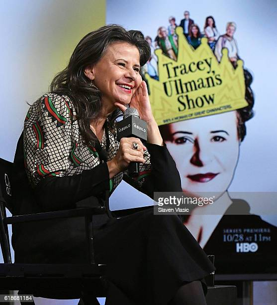 Tracey Ullman discusses HBO's Tracey Ullman's Show at AOL BUILD at AOL HQ on October 27 2016 in New York City