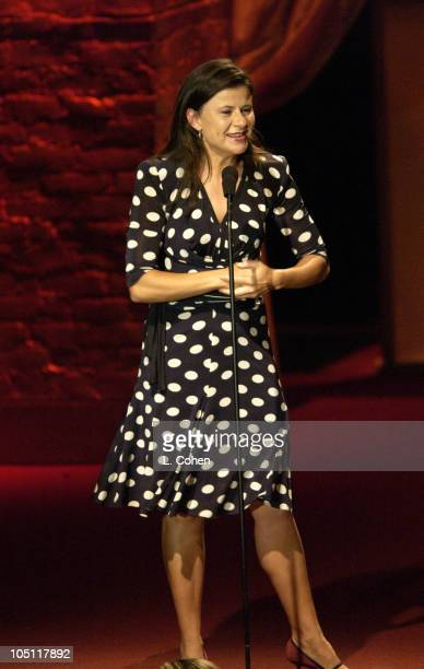 Tracey Ullman during 2003 Women In Film Crystal Lucy Awards Show at Century Plaza Hotel in Los Angeles California United States