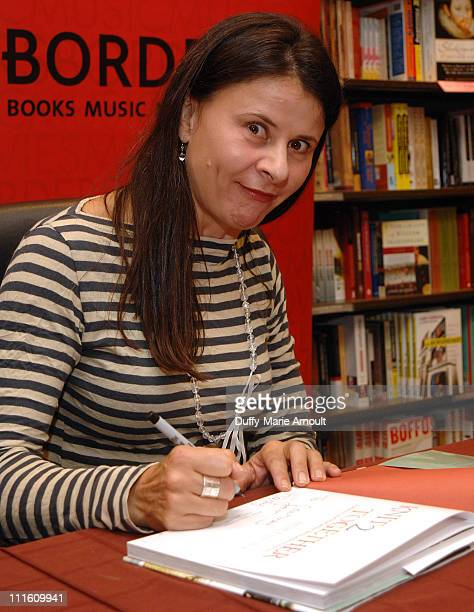 Tracey Ullman during Tracey Ullman Promotes Her New Book Knit 2 Together September 28 2006 at Borders Columbus Circle in New York City New York...
