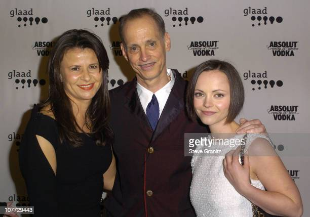 Tracey Ullman John Waters and Christina Ricci during The 15th GLAAD Media Awards Los Angeles VIP Reception at The Kodak Theatre in Hollywood...