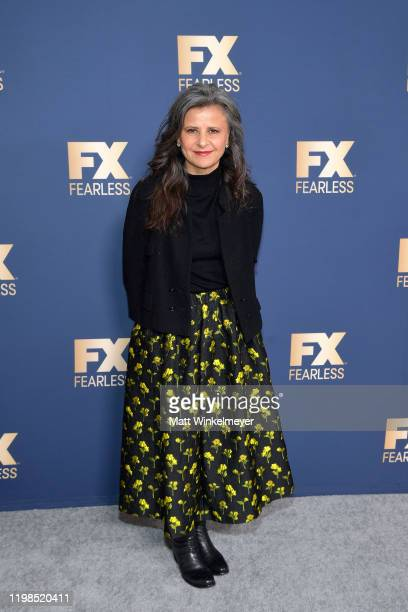 Tracey Ullman of 'Mrs America' attends the FX Networks' Star Walk Winter Press Tour 2020 at The Langham Huntington Pasadena on January 09 2020 in...