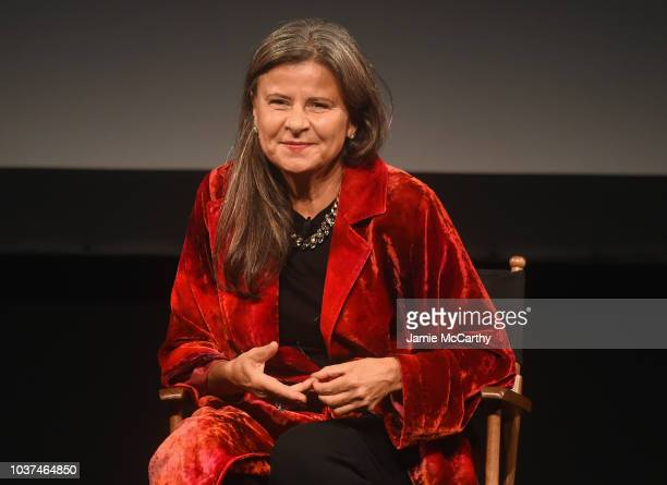 Tracey Ullman speaks at the Tracey Ullman's Show Season 3 Premiere for the 2018 Tribeca TV Festival at Spring Studios on September 21 2018 in New...