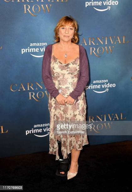 Tracey Wilkinson attends the Amazon Original series Carnival Row London Screening at The Ham Yard Hotel on August 28 2019 in London England