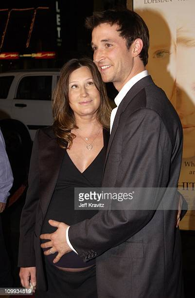 Tracey Wyle & Noah Wyle during White Oleander Premiere at Mann Chinese Theater in Hollywood, California, United States.