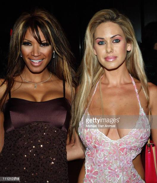 Traci Bingham and Shauna Sand during 2005 Nosotros Golden Eagle Awards at Beverly Hilton Hotel in Beverly Hills California United States