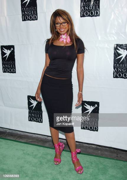 Traci Bingham during 11th Annual Angel Awards Hosted by Project Angel Food - Arrivals at Project Angel Food in Hollywood, California, United States.