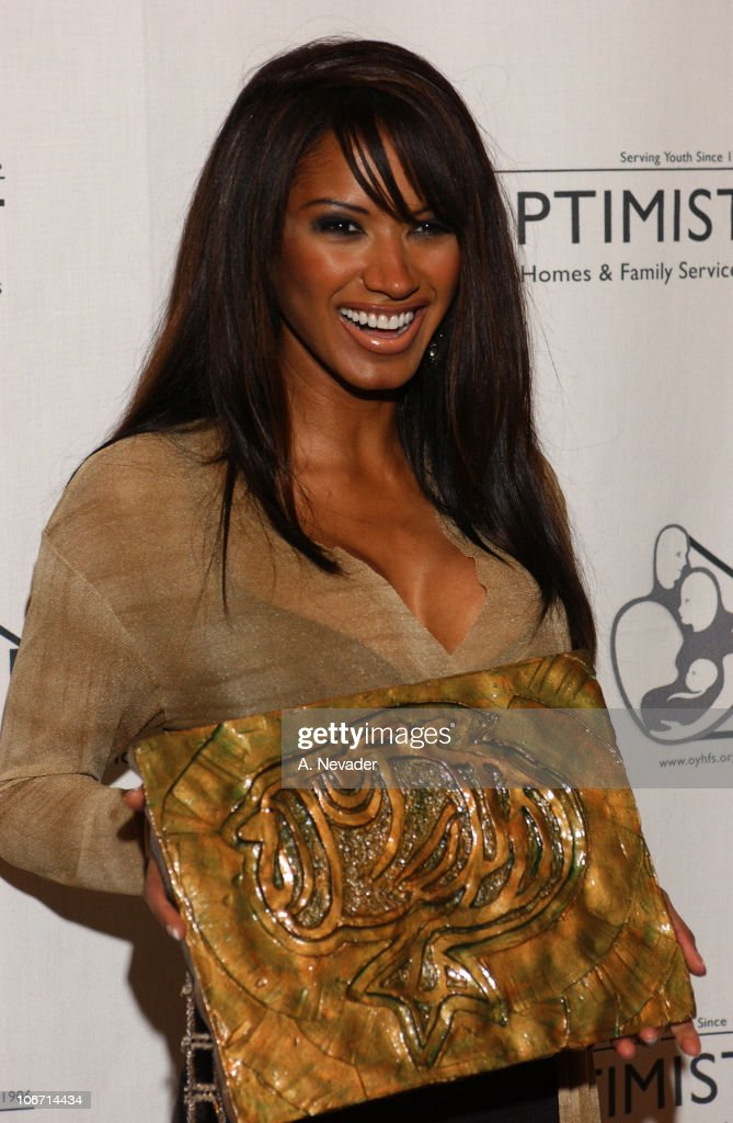 Traci Bingham during 6th Annual Mentor Awards Gala in Honor of Raquel Welch, Esai Morales and L. A. City Attorney Rocky Delgadillo at Beverly Hilton Hotel in Beverly Hills, California, United States.