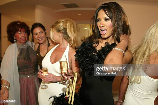 Traci Bingham during The 12th Annual Night of 100 Stars Oscar Gala at Beverly Hills Hotel in Beverly Hills, California, United States.