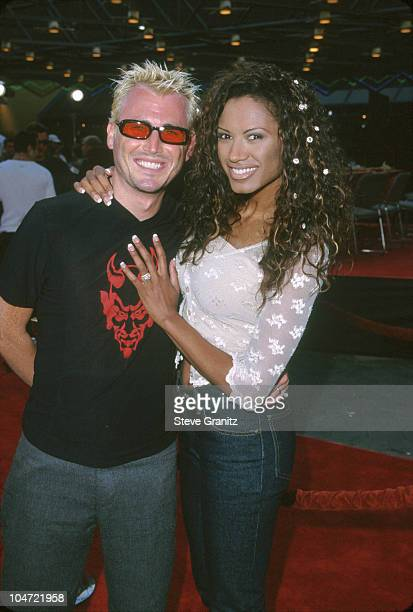 Traci Bingham Husband during 'American Pie' West Coast Premiere at Cineplex Odeon Universal Studios Cinema in Universal City California United States