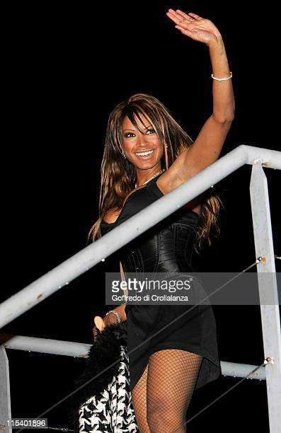 """Traci Bingham. She finished 6th in the final. During """"Celebrity Big Brother 4"""" Grand Finale at Elstree Studios in Borehamwood, Great Britain."""