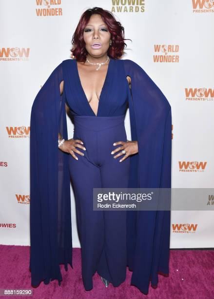 Traci Braxton attends the 13th Annual WOWie Awards presented by World of Wonder Productions at The WOW Presents Space on December 7, 2017 in...