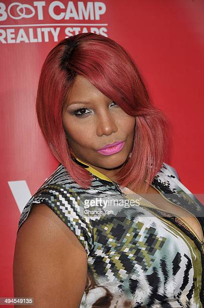 Traci Braxton attends the Marriage Boot Camp: Reality Stars event at Catch Rooftop on May 29, 2014 in New York City.