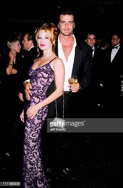 Traci Lords and John Enos during 1996 City of Hope at Universal Studios Hollywood in Universal City California United States