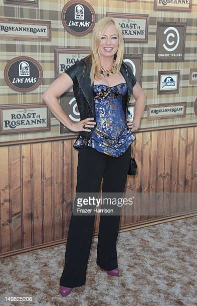 Traci Lords arrives at the Comedy Central Roast of Roseanne Barr at Hollywood Palladium on August 4 2012 in Hollywood California