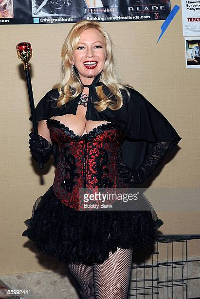 Traci Lords attends the Chiller Theatre Expo at Sheraton Parsippany Hotel on October 26 2013 in Parsippany New Jersey