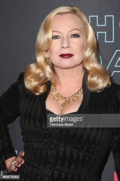 Traci Lords attends the Premiere Of Pop TV's 'Hot Date' held at Estrella on November 2 2017 in West Hollywood California