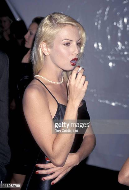 Traci Lords during Calvin Klein Presents Fall 1995 Collections at the 'Race to Erase MS' Benefit at Saks Fifth Avenue Store in Beverly Hills...