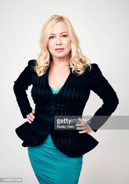 Traci Lords of Pop Network's 'Swedish Dicks' poses for a portrait during the 2018 Summer Television Critics Association Press Tour at The Beverly...